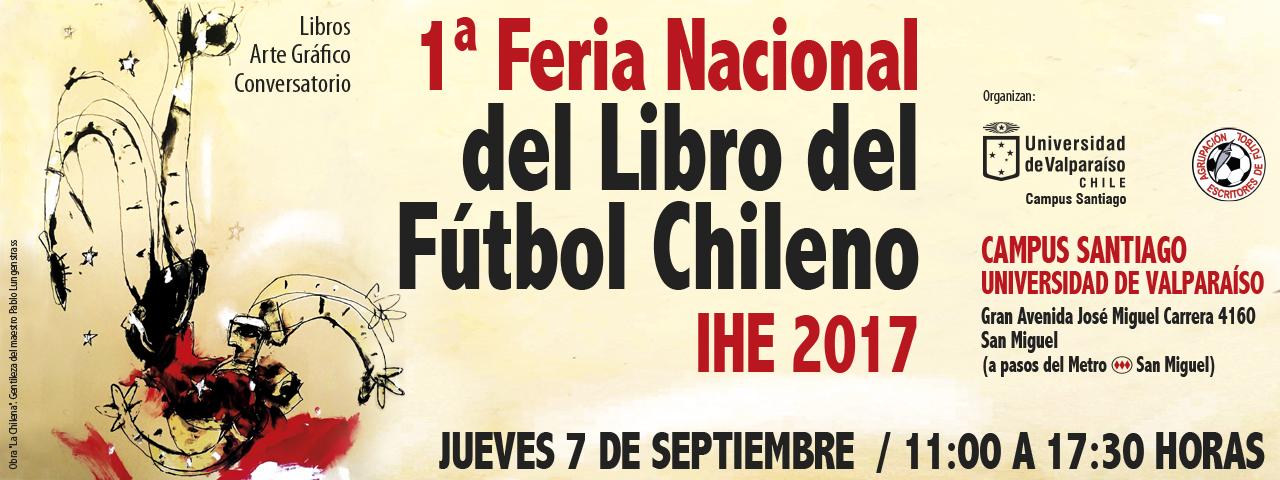 Primera Feria Nacional del Libro del Fútbol Chileno 2017